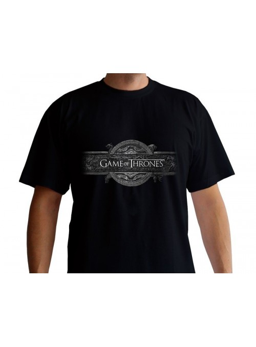 "Men's t-shirt ""Logo Header"" Black - Game of Thrones"