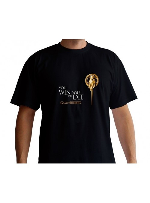 """Men's t-shirt """"Hand of the King"""" Black-Game of Thrones-"""