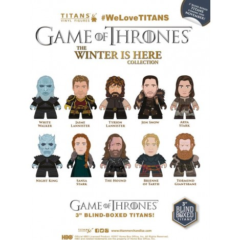Caja Sorpresa Minifuguras ''The Winter Is Here Collection Titans'' 8cm - Juego de Tronos
