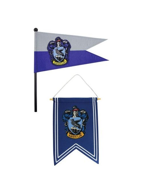 Set Banderín & Bandera Ravenclaw - Harry Potter