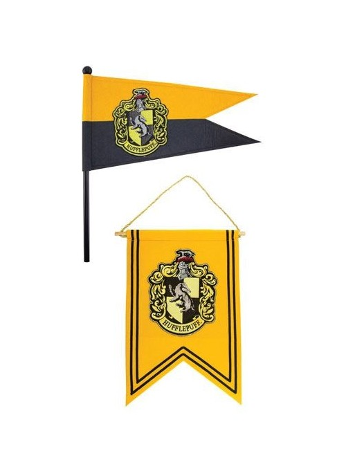 Harry Potter Set Banderín & Bandera Hufflepuff - Harry Potter