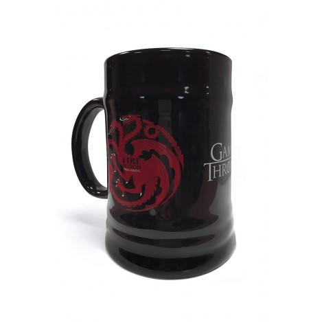 "Beer mug ""Targaryen"" - Game of Thrones"