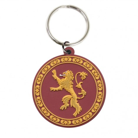 "Keychain Rubber ""Lannister"" 6cm - Game of Thrones"