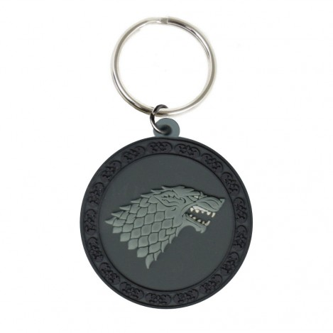 "Keychain Rubber ""Stark"" 6cm - Game of Thrones"