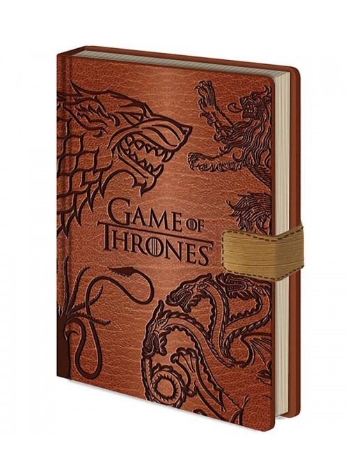 "Book Premium A5 ""Emblems"" - Game of Thrones"