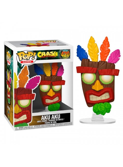 Figura Funko POP Aku Aku - Crash Bandicoot