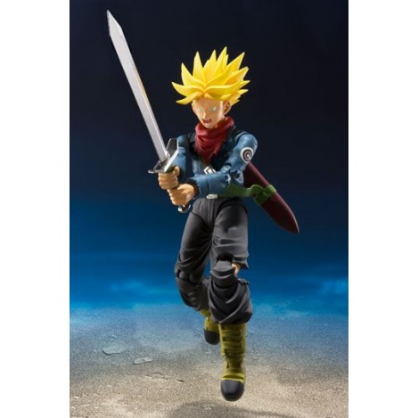 Dragon Ball Super SH Figuarts Figura de acción Trunks Tamashii - Dragon Ball
