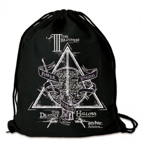 Gym Bag Tres Hermanos - Harry Potter