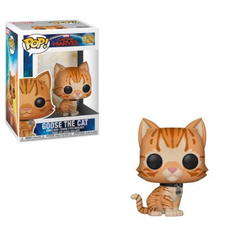 Figura Funko POP Goose the Cat - Capitana Marvel