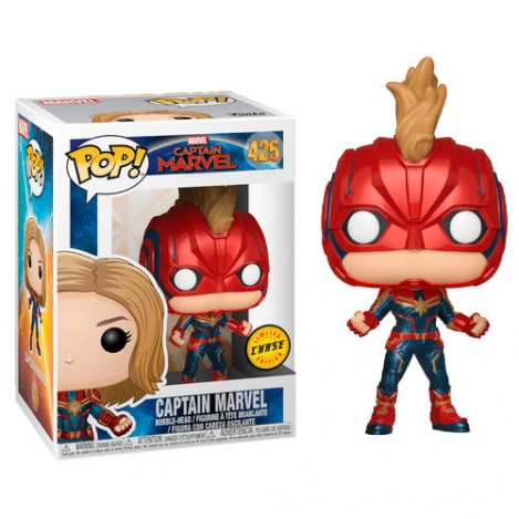Figura Funko POP Capitana Marvel chase - Marvel