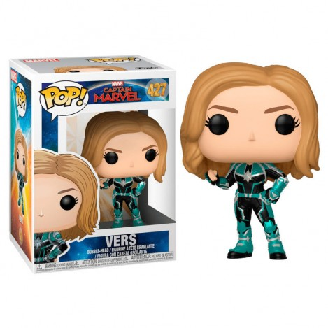 Figura Funko POP Vers - Capitana Marvel