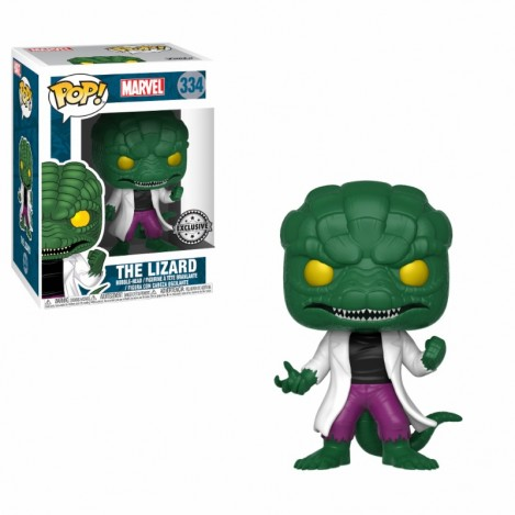 Figura Funko POP The Lizard Exclusive - Marvel Comics