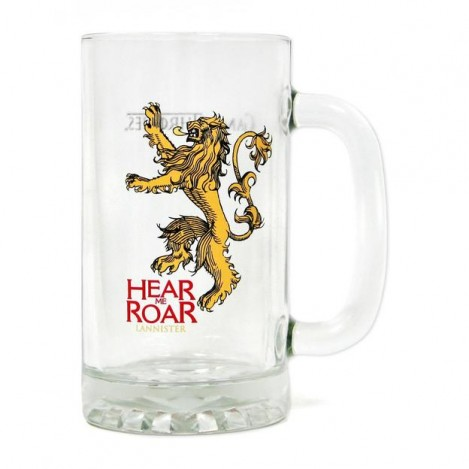 "Glass carafe Motto ""Head my Roar"" - Game of Thrones"