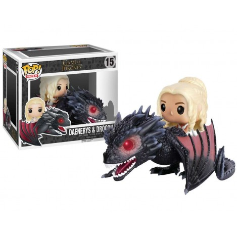 Figure POP Daenerys & Drogon 18cm - Game of Thrones
