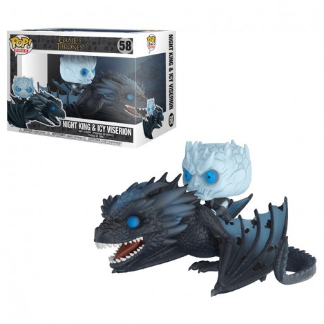 Figure Funko POP Night King on Dragon 15cm - Game of Thrones