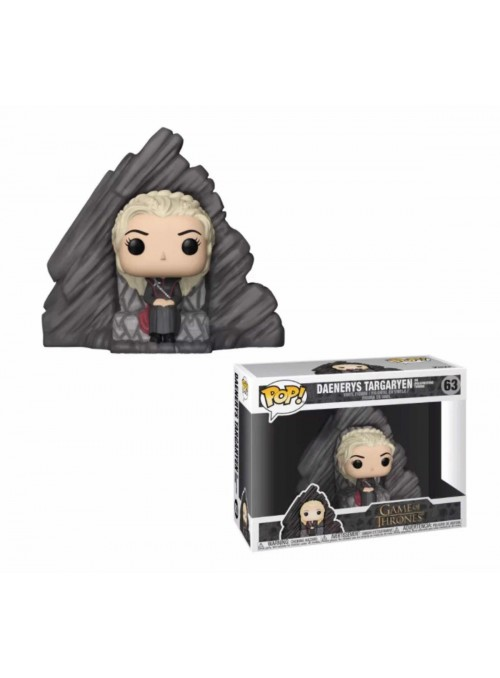 Figura Funko POP Daenerys on Dragonstone Throne - Juego de Tronos