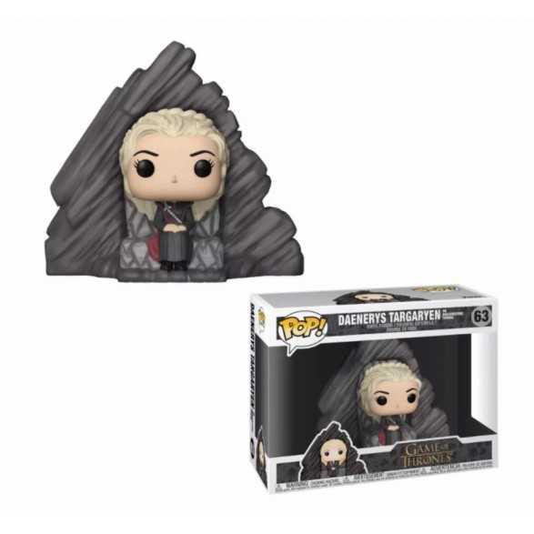 Figura POP Daenerys on Dragonstone Throne - Juego de Tronos