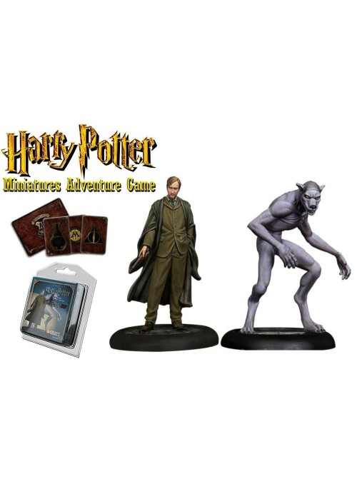 PACK REMUS LUPIN Y FORMA WOLF - Harry Potter