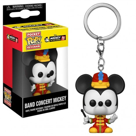 Llavero Pocket Funko POP Mickey's 90th Band Concert Mickey - Disney
