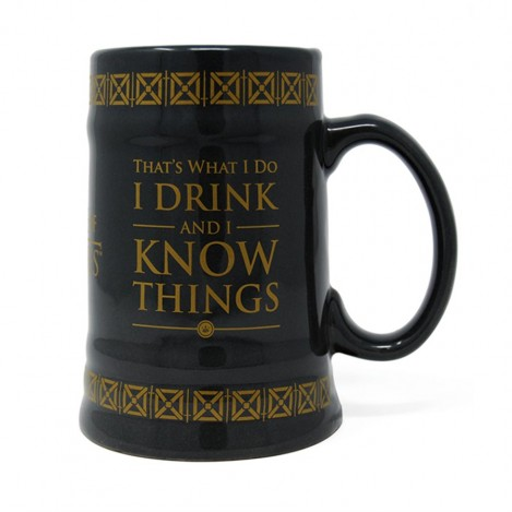 Jarra Drink & Know Things - Juego de Tronos