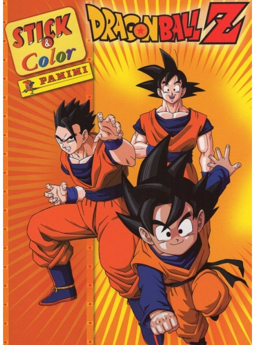DRAGON BALL Z STICK AND COLOR
