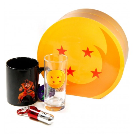 Pack Vaso + Taza + Llavero - Dragon Ball