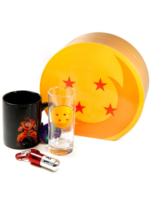 Pack Glass + Cup + Keychain - Dragon Ball