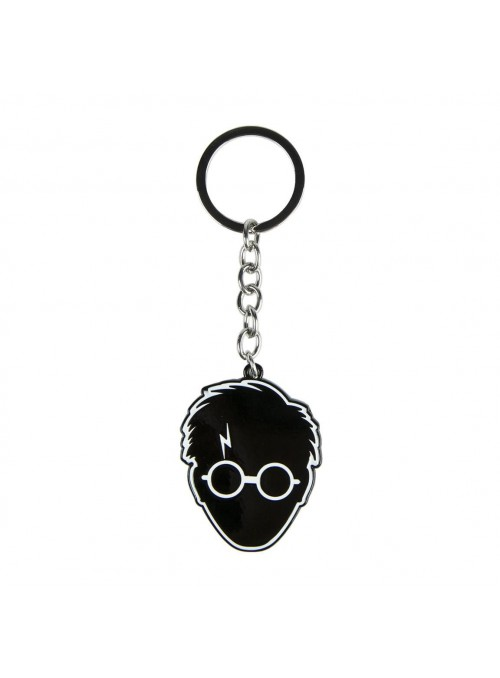 Llavero metal silueta harry - Harry Potter