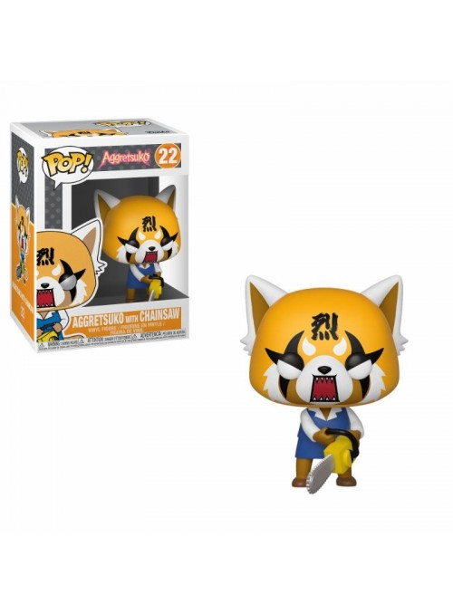 Figura Funko POP Retsuko with Chainsaw - Aggretsuko