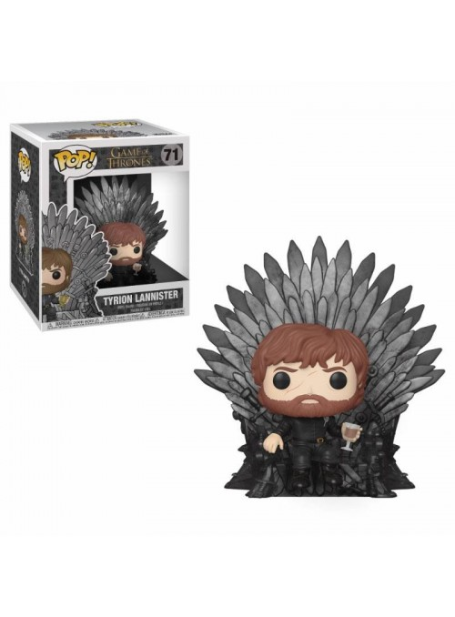 Figura Funko POP Tyrion Sitting on Throne - Juego de Tronos