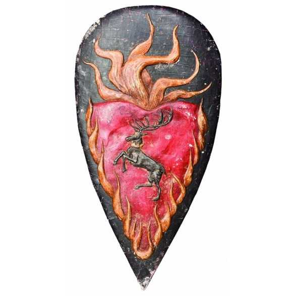 Broche Bouclier de Stannis Baratheon - Game of Thrones