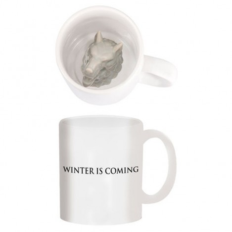 Cup Stark With a wolf carved - Game of Thrones