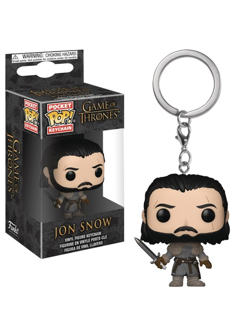 Keychain Pocket POP Jon Snow Beyond the Wall - Game of Thrones