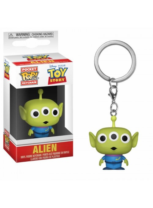 Llavero Pocket Funko POP Toy Story Alien - Disney
