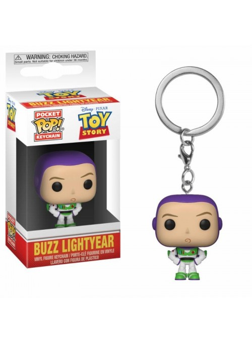 Llavero Pocket Funko POP Toy Story Buzz - Disney