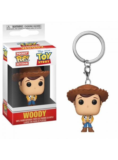 Llavero Pocket Funko POP Toy Story Woody - Disney
