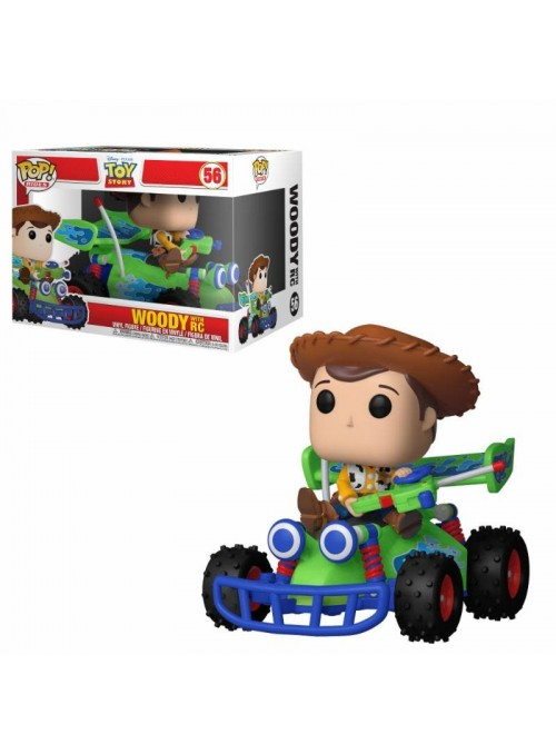 Figura Funko POP Woody with RC 15 cm - Toy Story