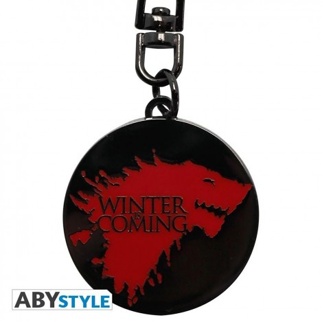 "Key ring""Winter is coming""- Game of Thrones"