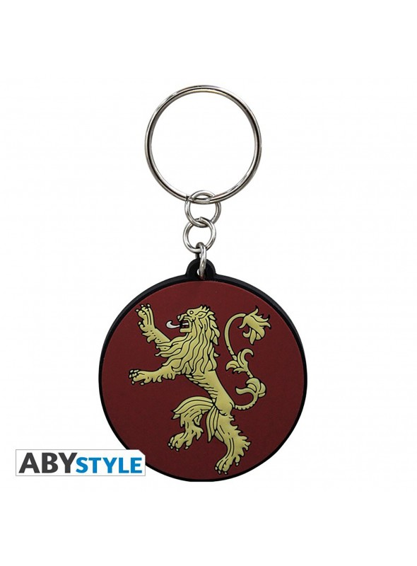 """Keychain PVC """"Lannister"""" - Game of Thrones"""