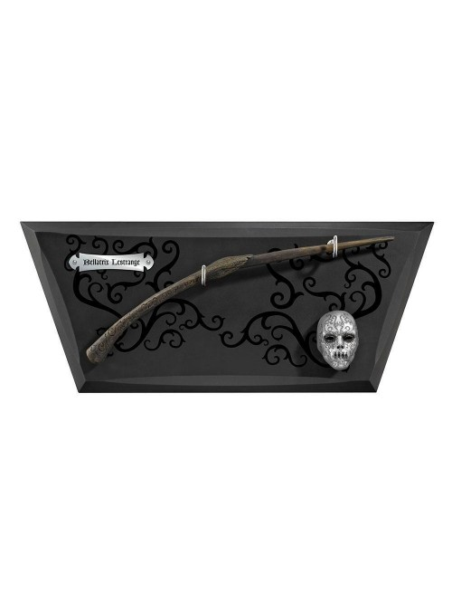 Magic wand - Bellatrix Lestrange with display - Harry Potter