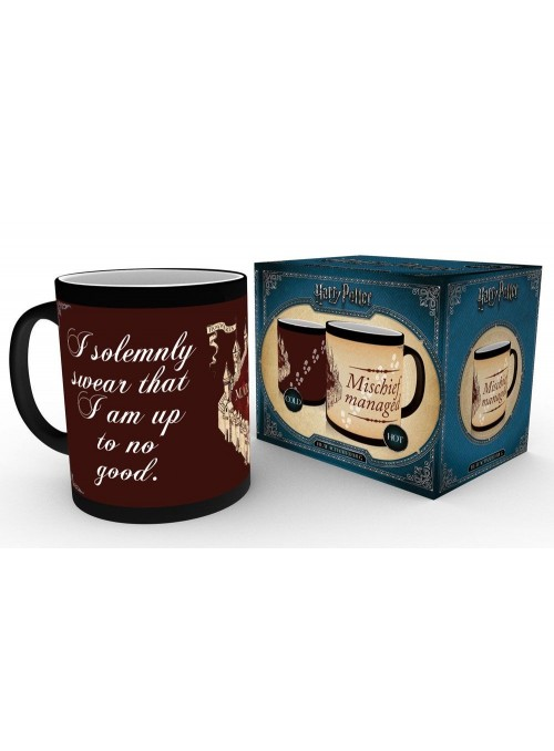 Taza de calor I Solemnly Swear - Harry Potter