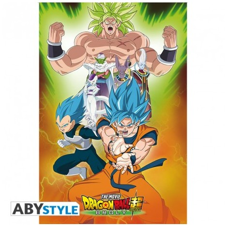 "DRAGON BALL BROLY - Póster - ""Grupo"" (91.5x61)"