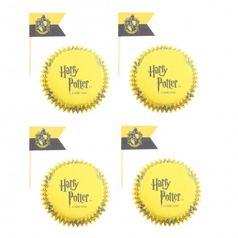 Decor for cooking pack 20 udds. Hufflepuff - Harry Potter