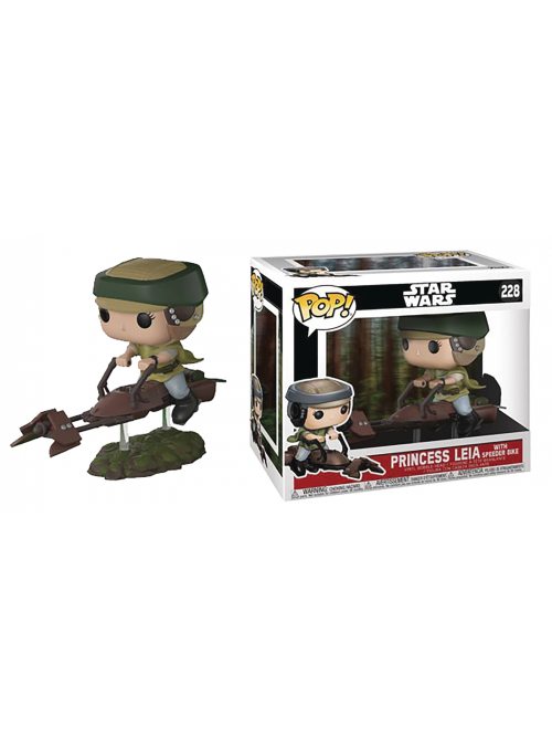 Figura Funko POP Luke on Speeder - Star Wars