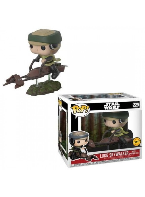 Figura Funko POP Luke on Speeder chase - Star Wars