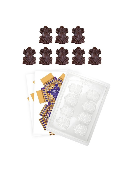 Molde de Choco-ranas + 8 cajas de chocoranas - Harry Potter