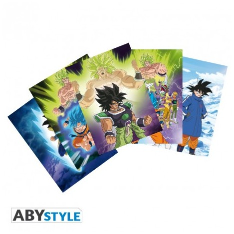 Postales DBS Broly - Dragon Ball