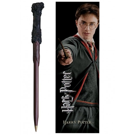Pen wand with mark page Harry Potter