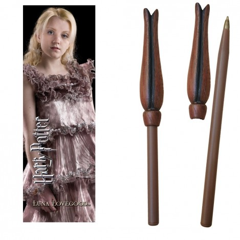 Pen wand with mark page Luna Lovegood - Harry Potter