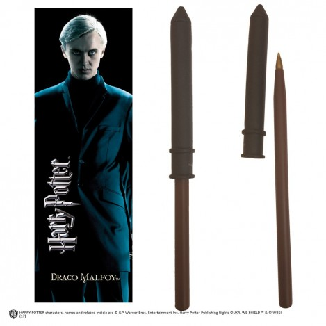 Pen wand with mark page Draco Malfoy - Harry Potter
